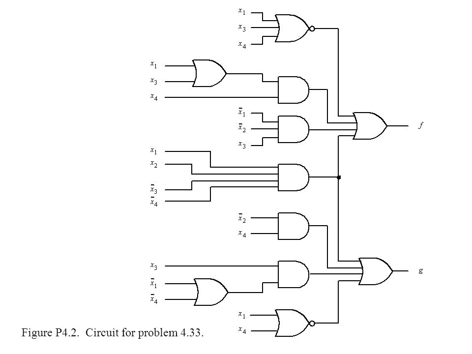 Figure P4.2. Circuit for problem 4.33.