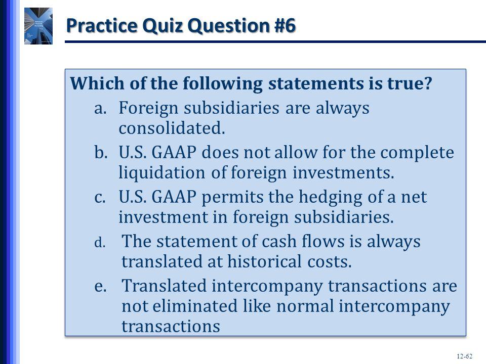 Practice Quiz Question #6