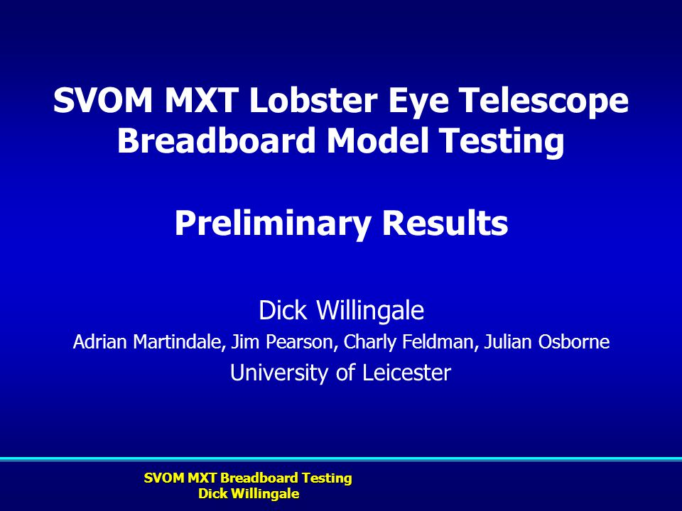 SVOM MXT Lobster Eye Telescope Breadboard Model Testing Preliminary Results
