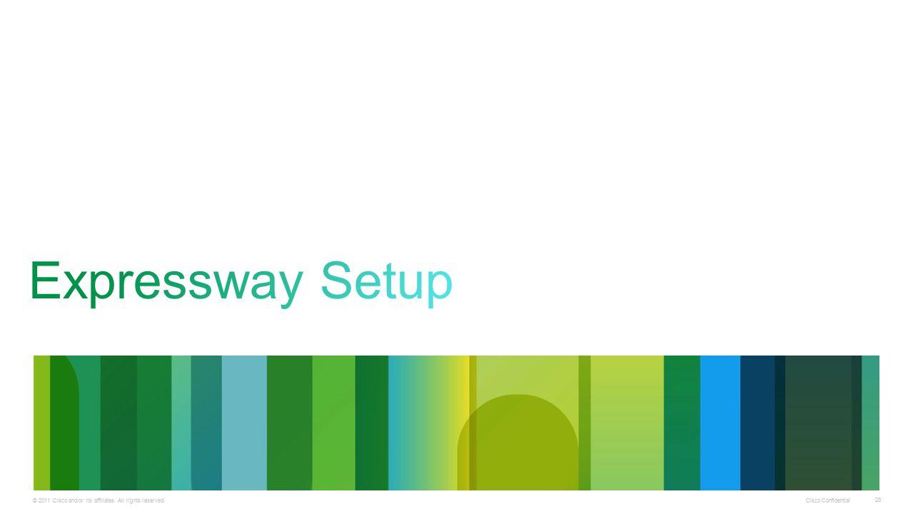 Expressway Setup