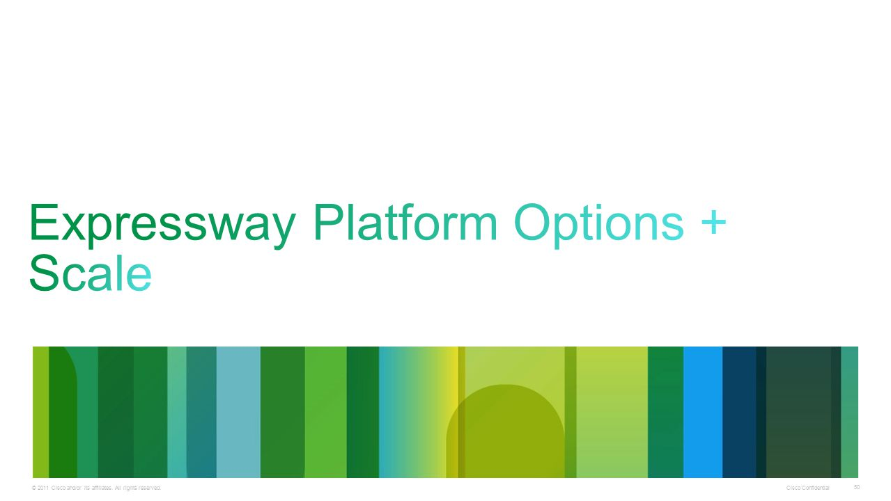 Expressway Platform Options + Scale