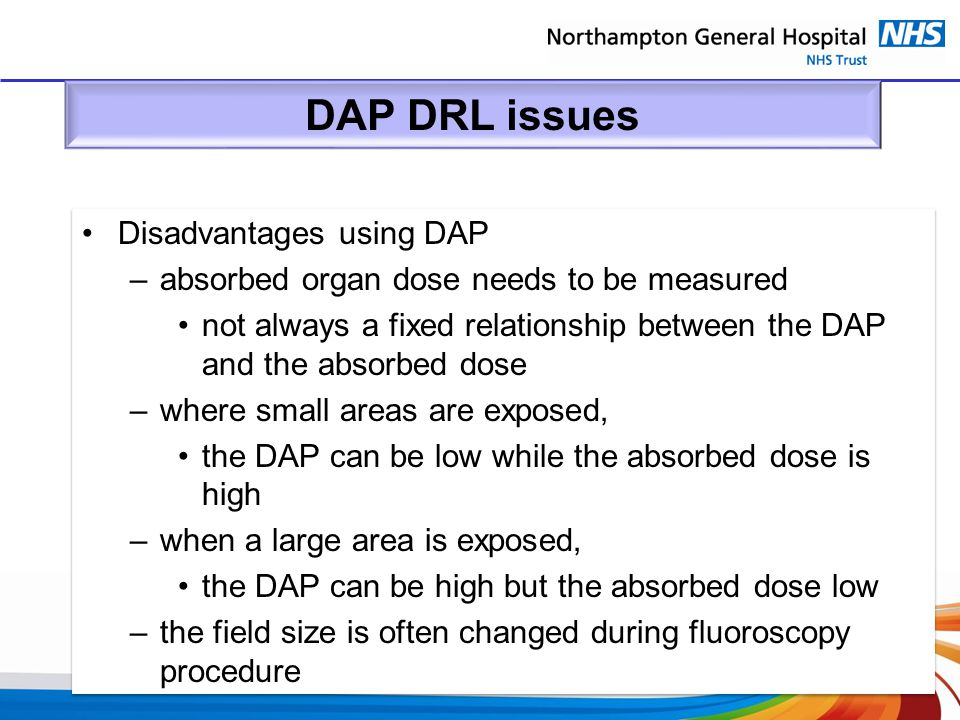 DAP DRL issues Disadvantages using DAP
