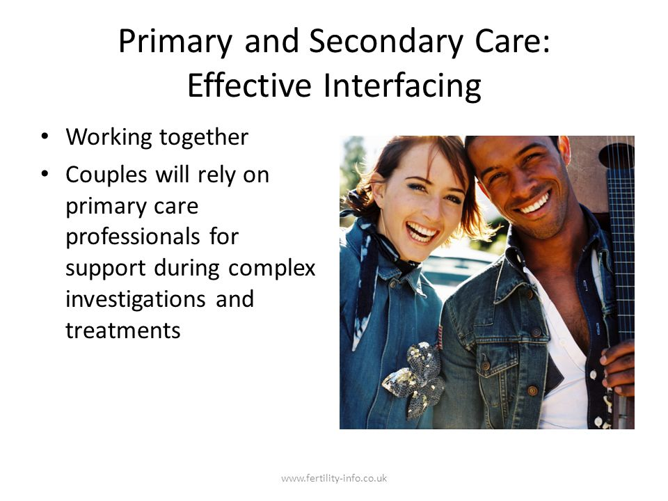 Primary and Secondary Care: Effective Interfacing