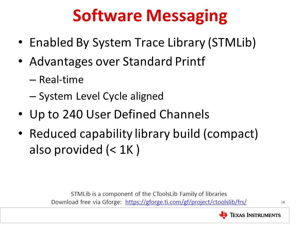 STMLib is a component of the CToolsLib Family of libraries
