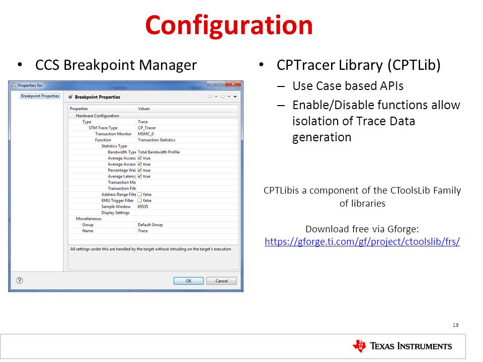 CPTLibis a component of the CToolsLib Family of libraries