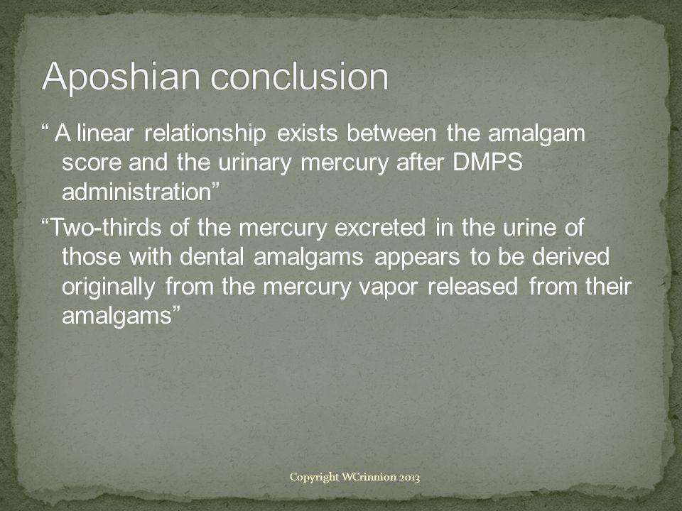 Aposhian conclusion