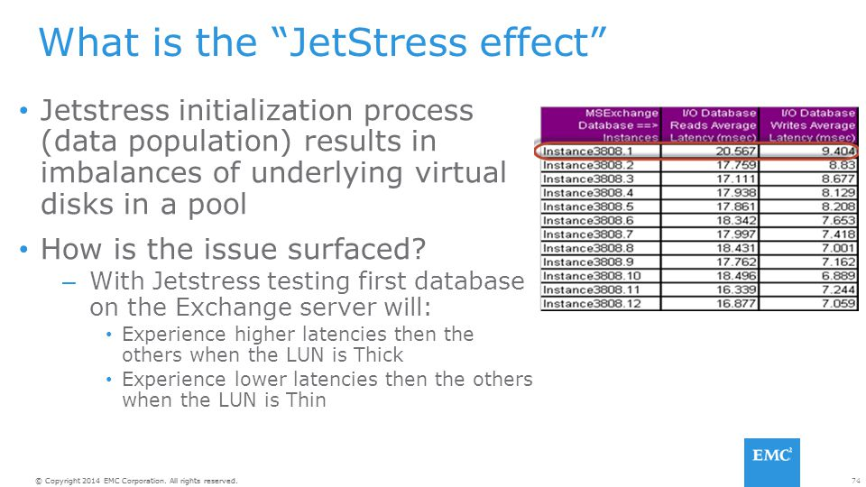What is the JetStress effect