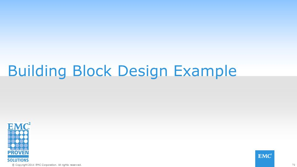Building Block Design Example