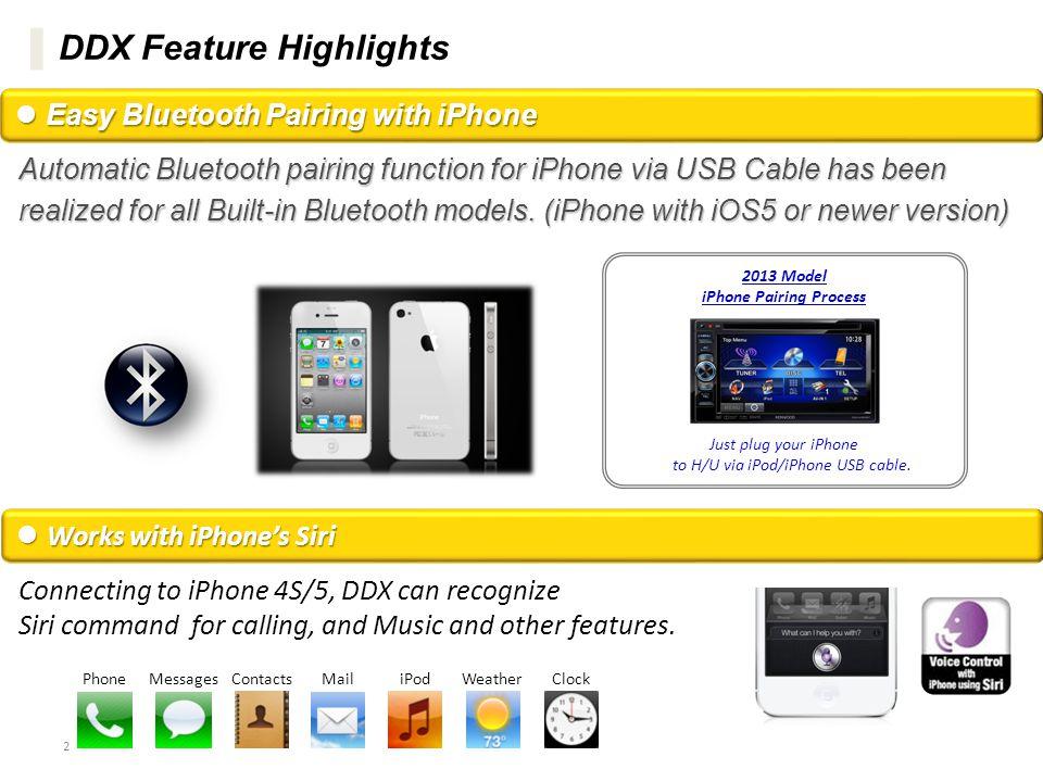 iPhone Pairing Process