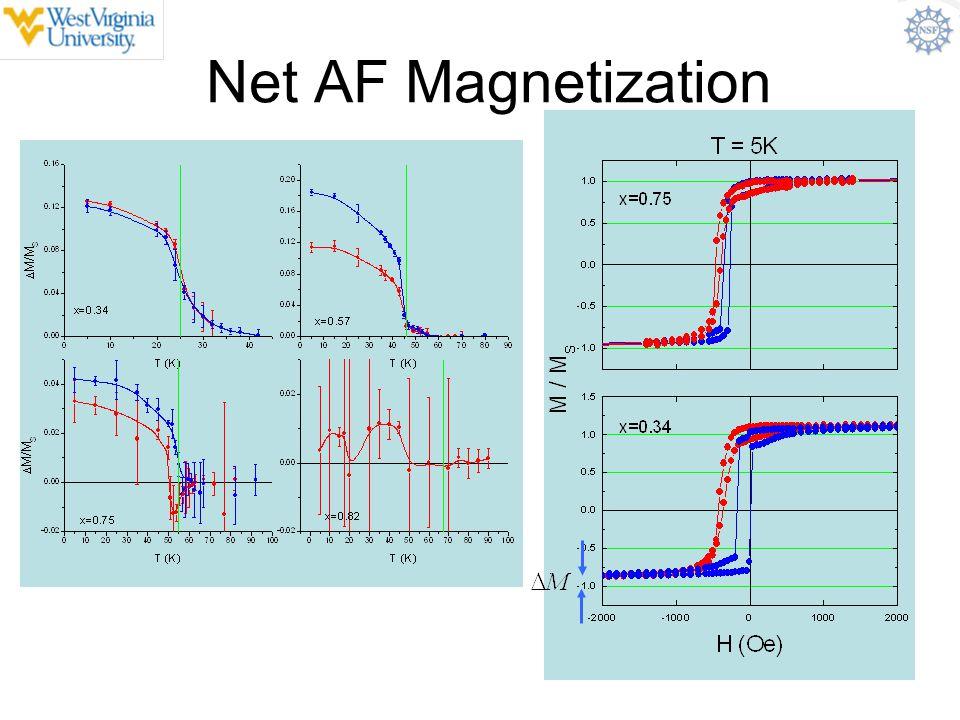 Net AF Magnetization