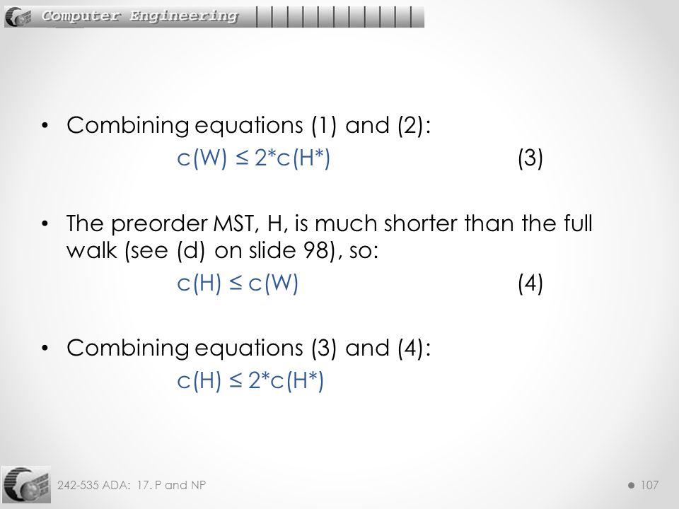 Combining equations (1) and (2):