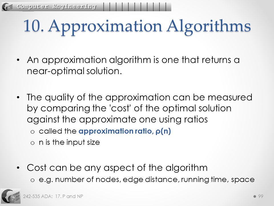 10. Approximation Algorithms