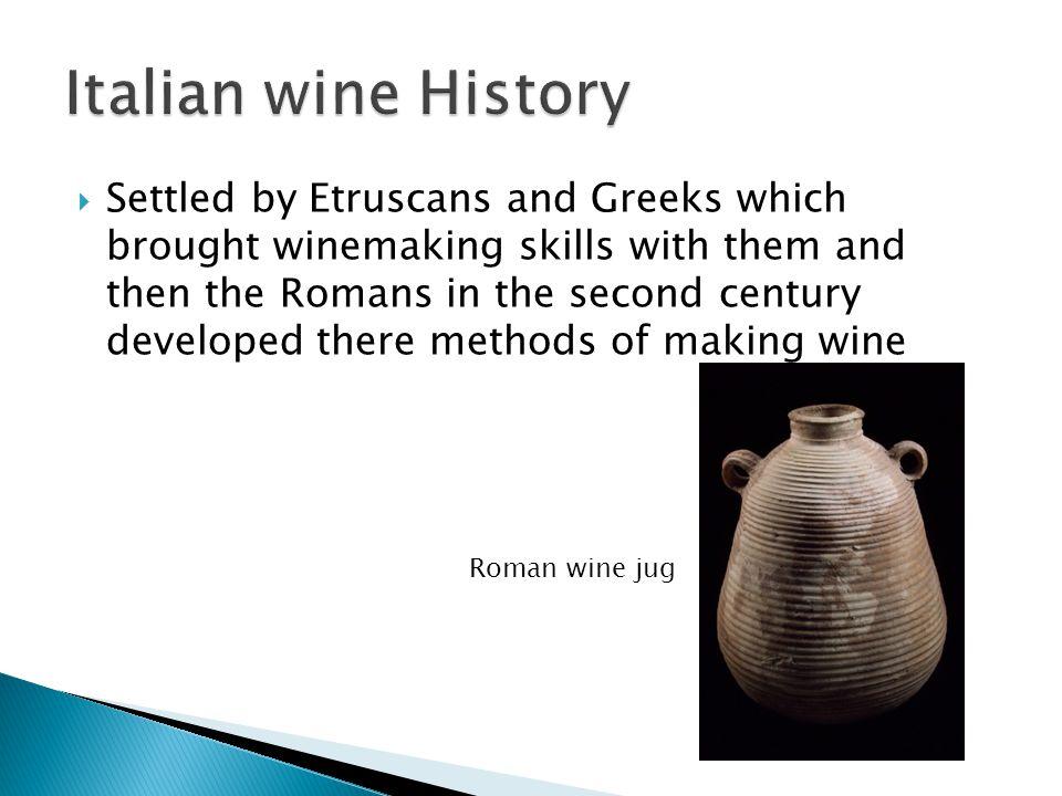 Italian wine History