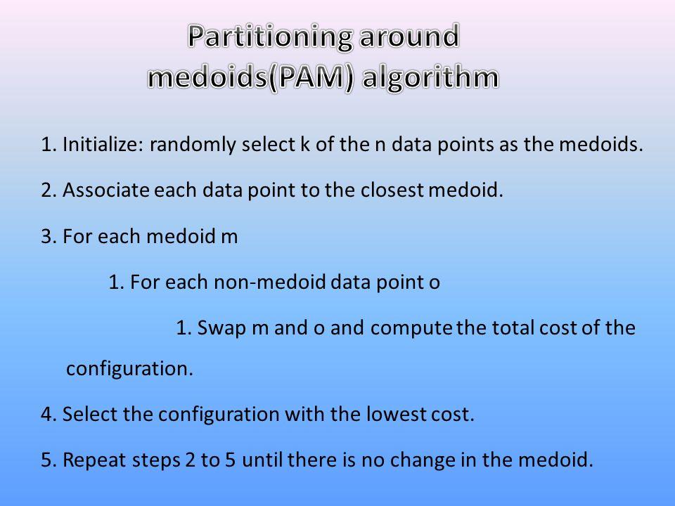 medoids(PAM) algorithm
