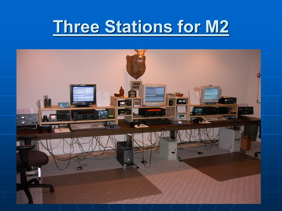 Three Stations for M2