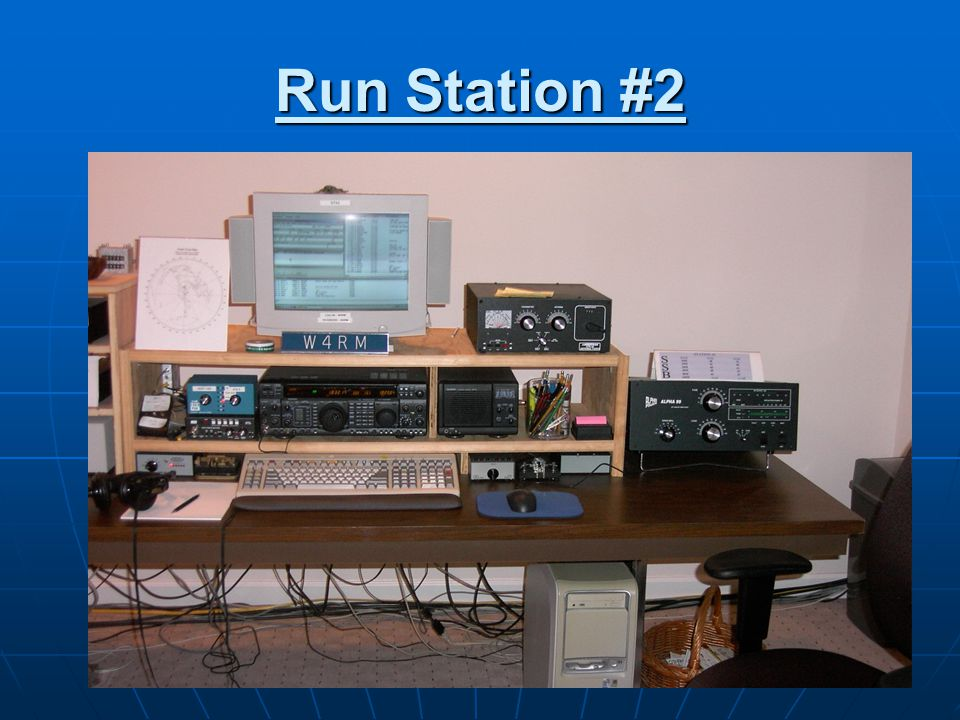 Run Station #2