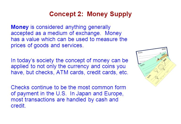 Concept 2: Money Supply