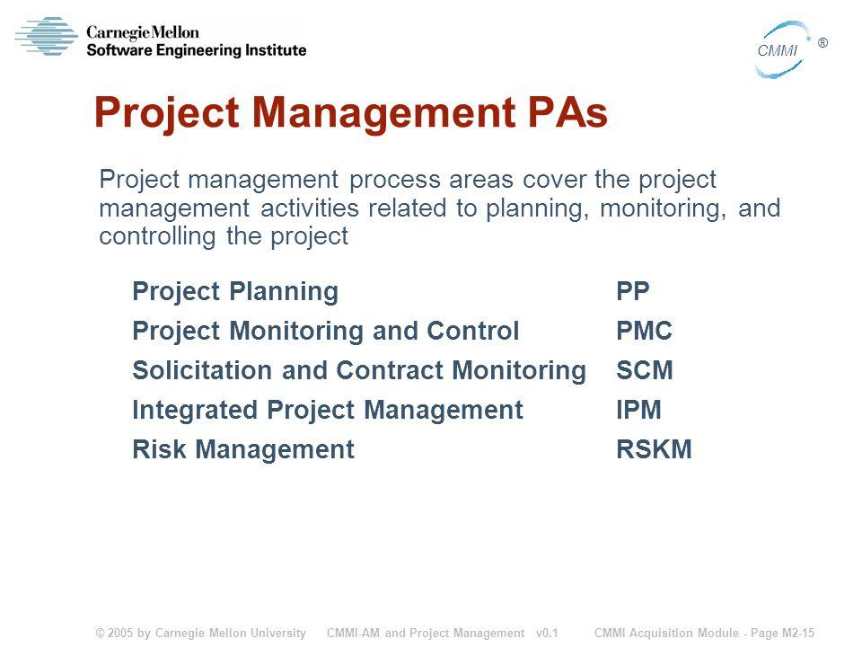 Project Management PAs