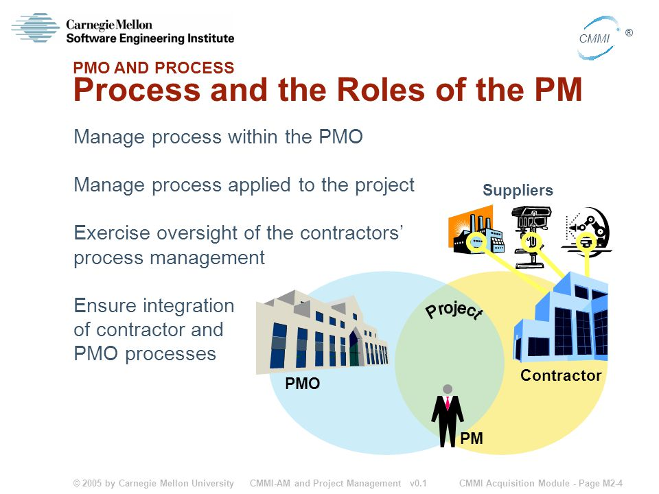Process and the Roles of the PM