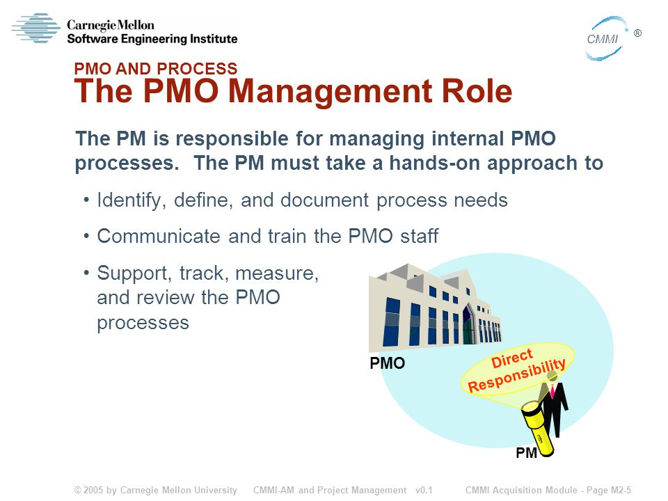 The PMO Management Role