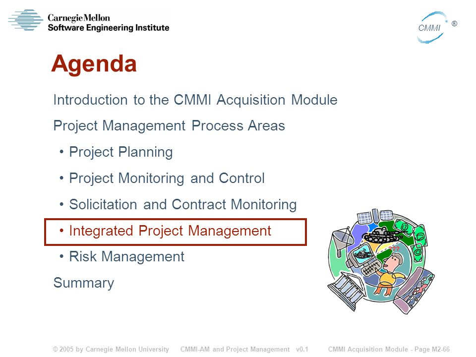 Agenda Introduction to the CMMI Acquisition Module