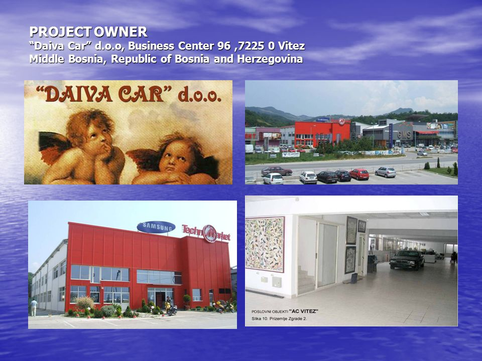 PROJECT OWNER Daiva Car d. o