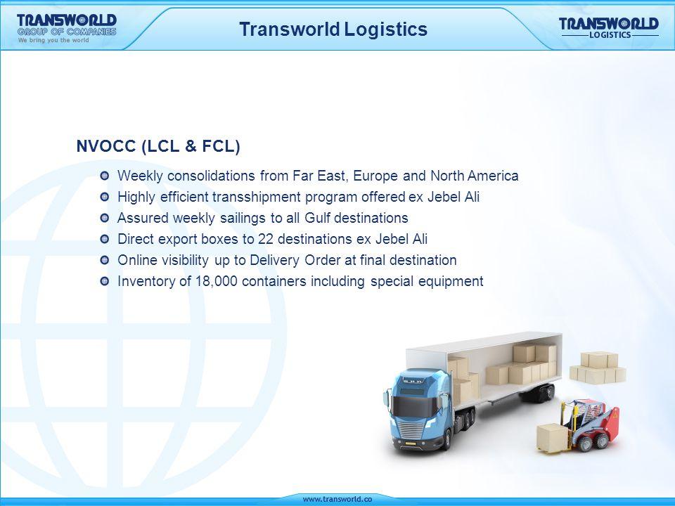 Transworld Logistics NVOCC (LCL & FCL)