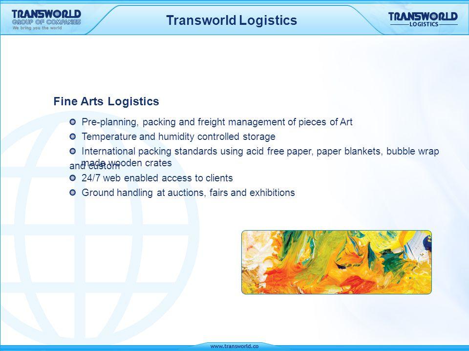 Transworld Logistics Fine Arts Logistics