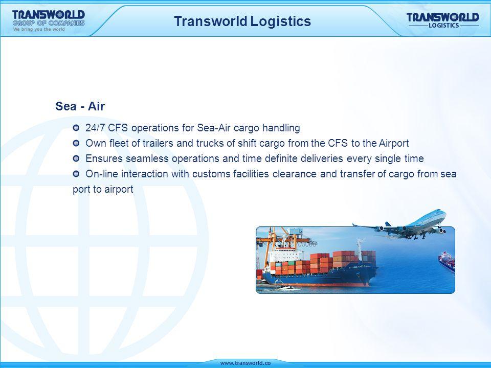Transworld Logistics Sea - Air