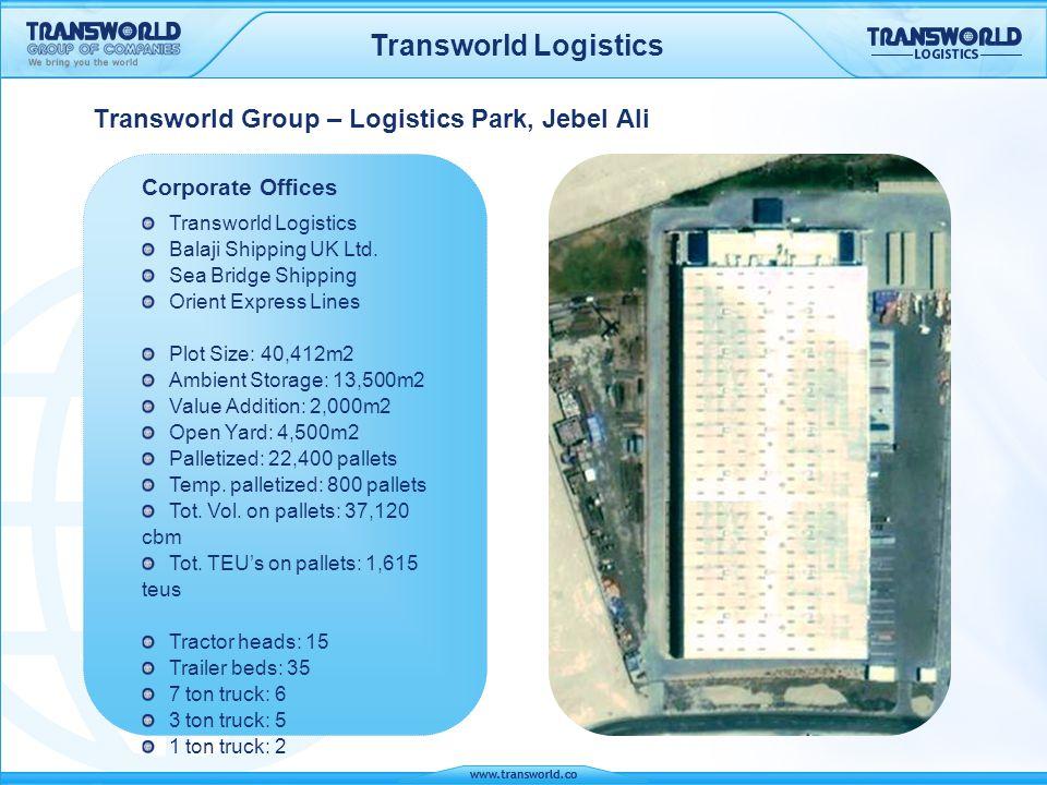 Transworld Group – Logistics Park, Jebel Ali