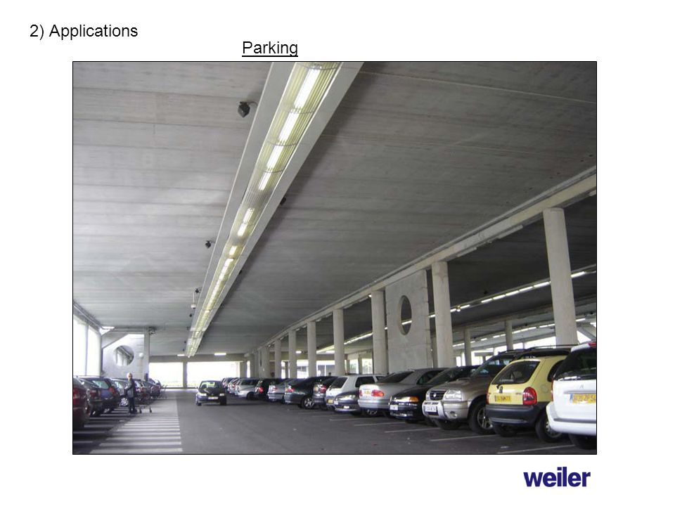 2) Applications Parking