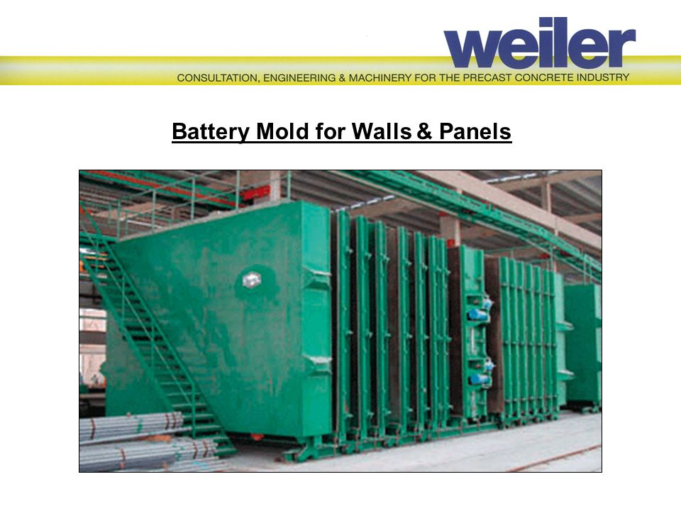 Battery Mold for Walls & Panels