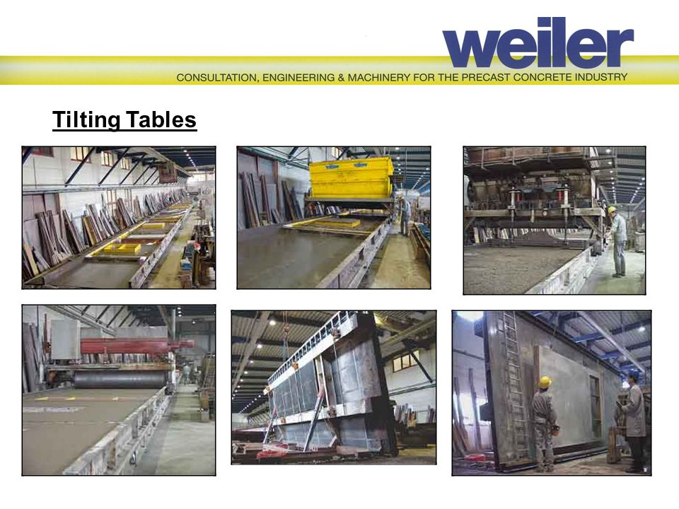 Tilting Tables