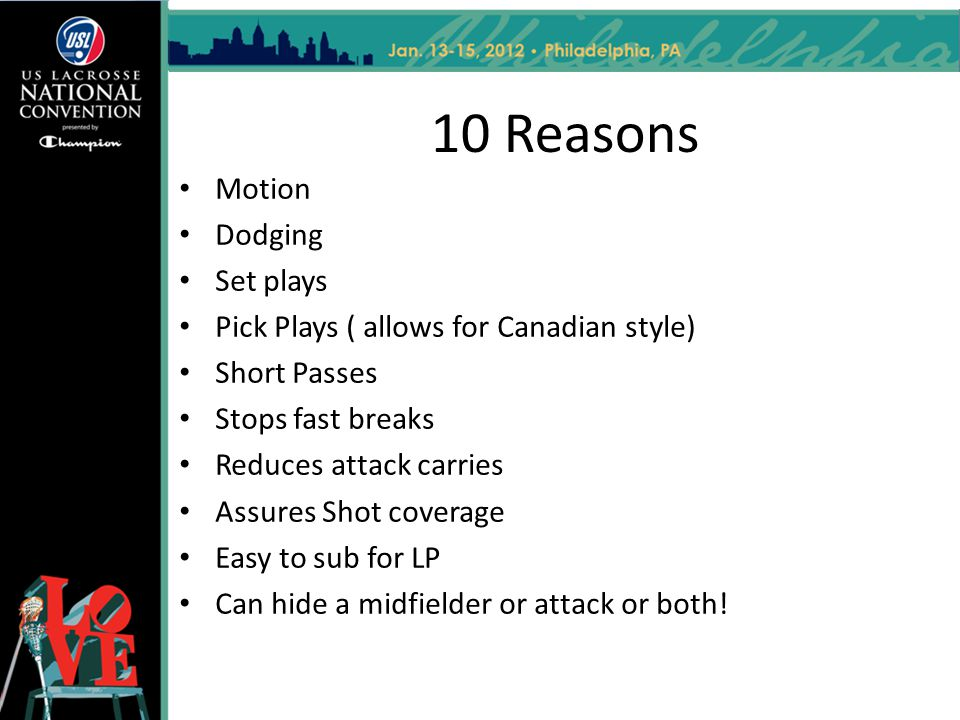 10 Reasons Motion Dodging Set plays