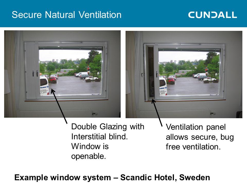 Secure Natural Ventilation
