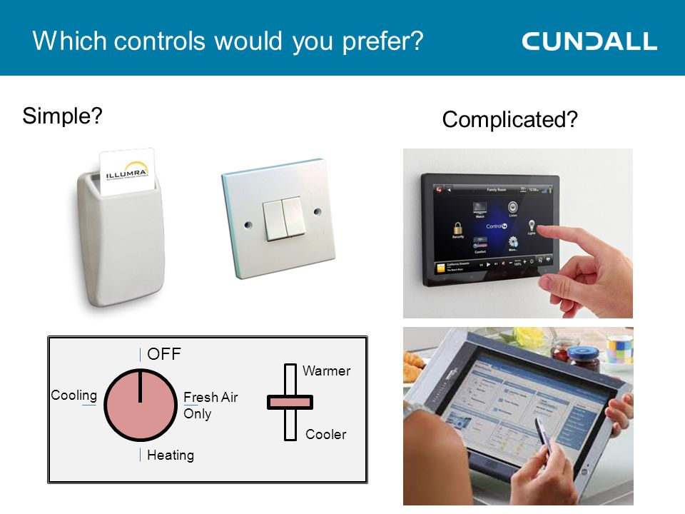 Which controls would you prefer