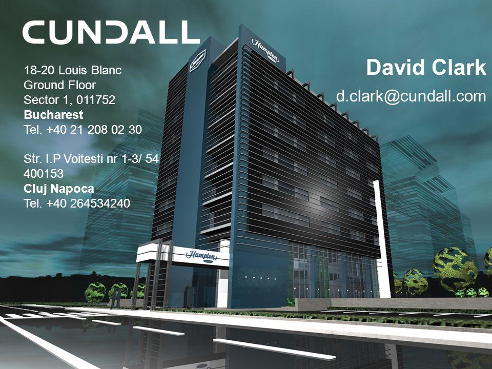 David Clark d.clark@cundall.com 18-20 Louis Blanc Ground Floor