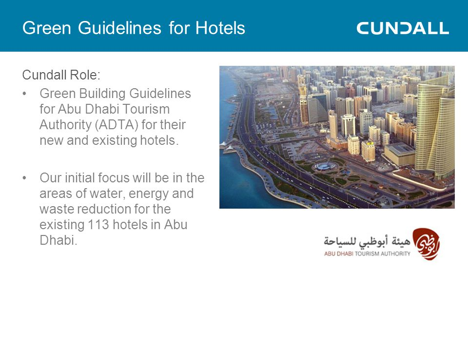 Green Guidelines for Hotels