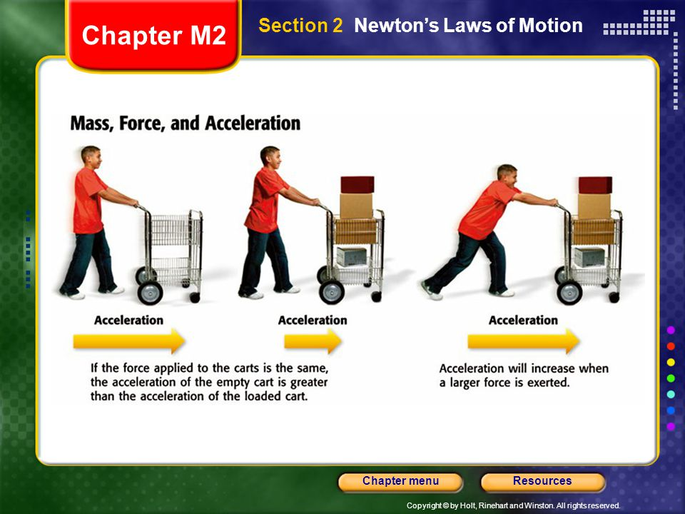 Section 2 Newton's Laws of Motion