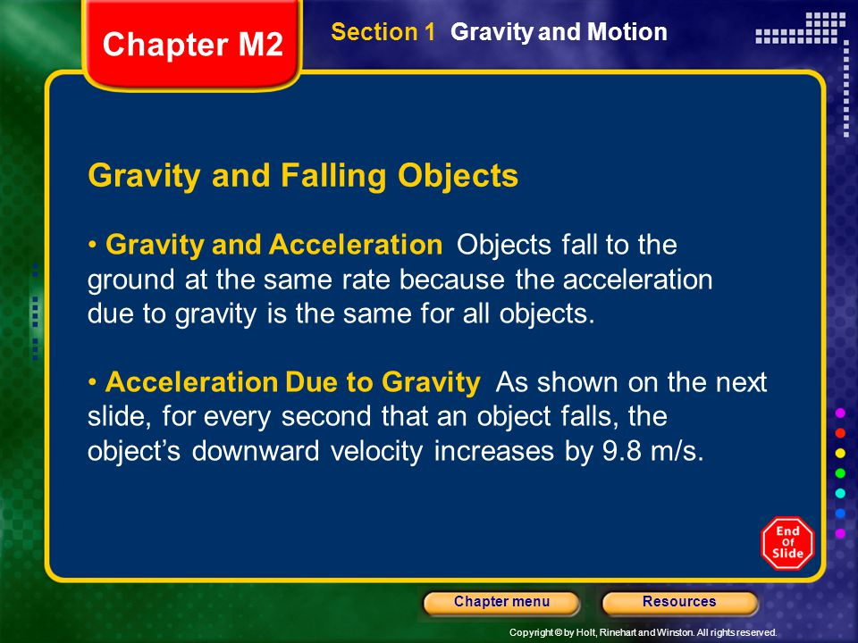 Gravity and Falling Objects