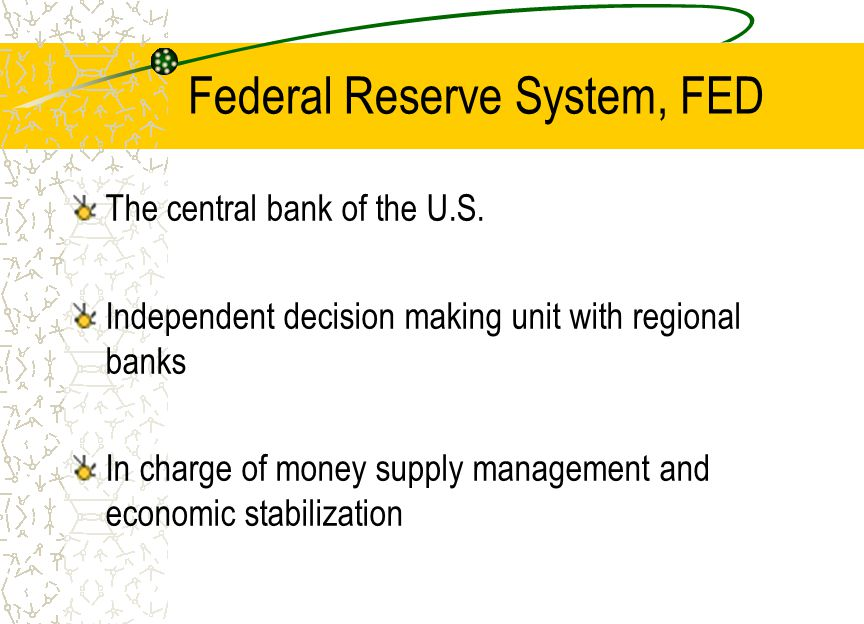 Federal Reserve System, FED