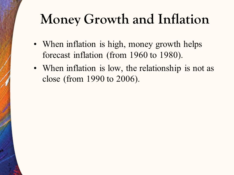 Money Growth and Inflation