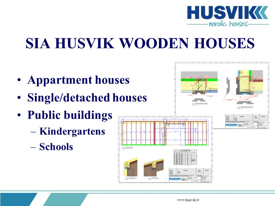 SIA HUSVIK WOODEN HOUSES