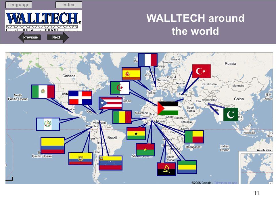 WALLTECH around the world