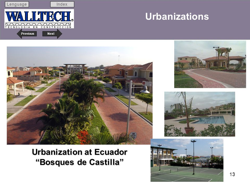 Urbanization at Ecuador Bosques de Castilla