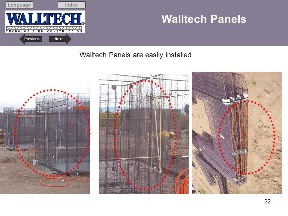 Walltech Panels are easily installed