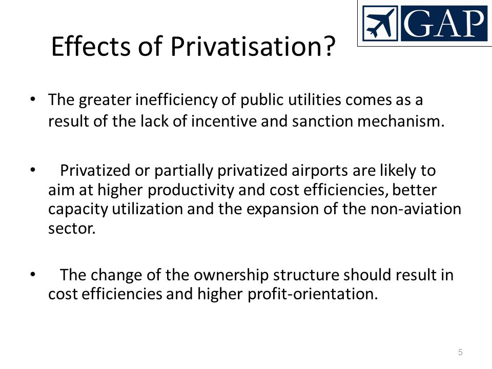 Effects of Privatisation