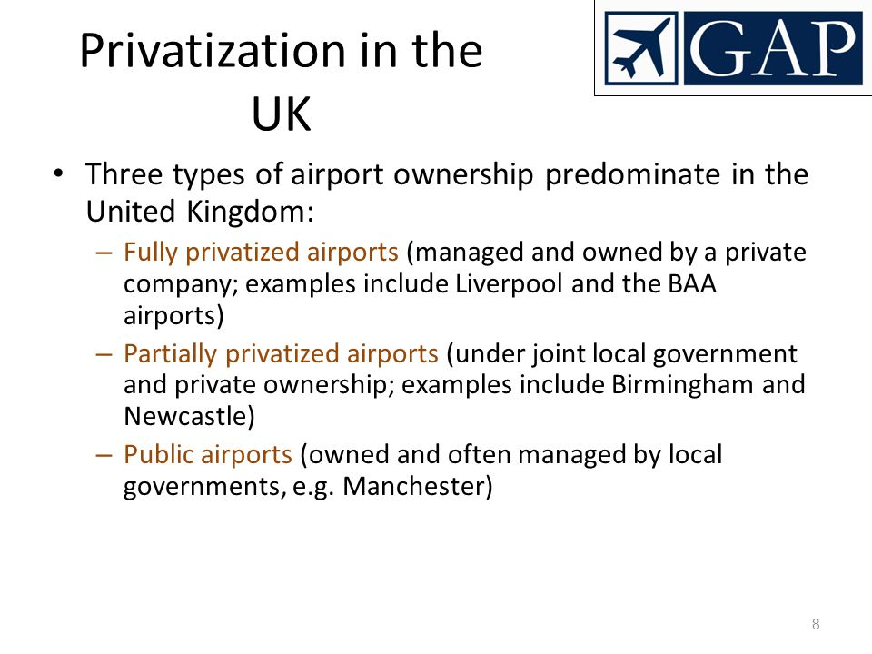 Privatization in the UK