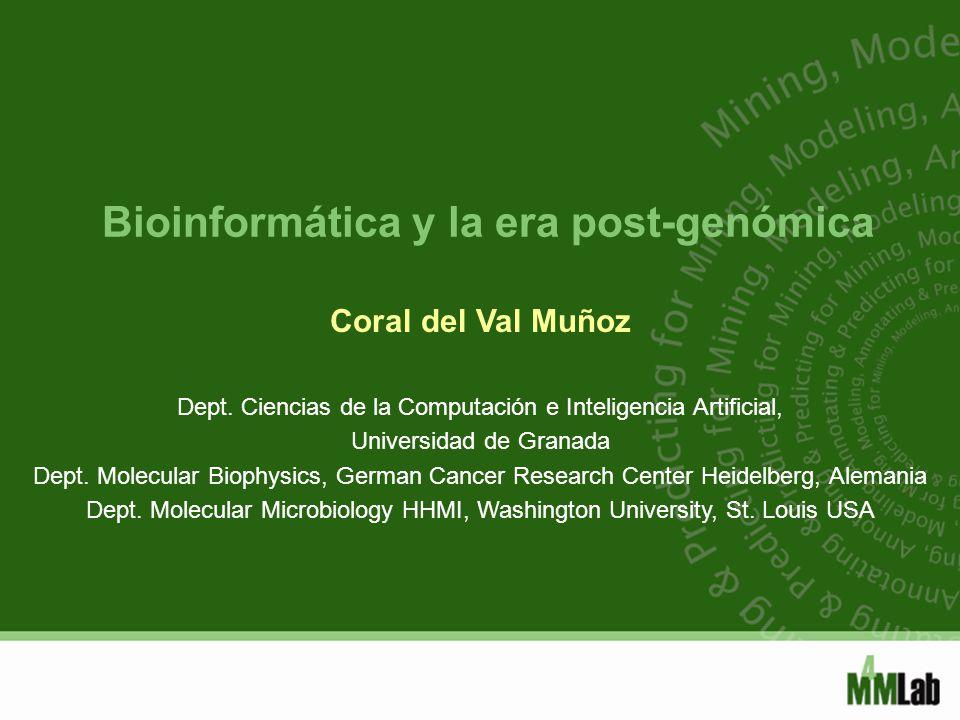 Bioinformática y la era post-genómica