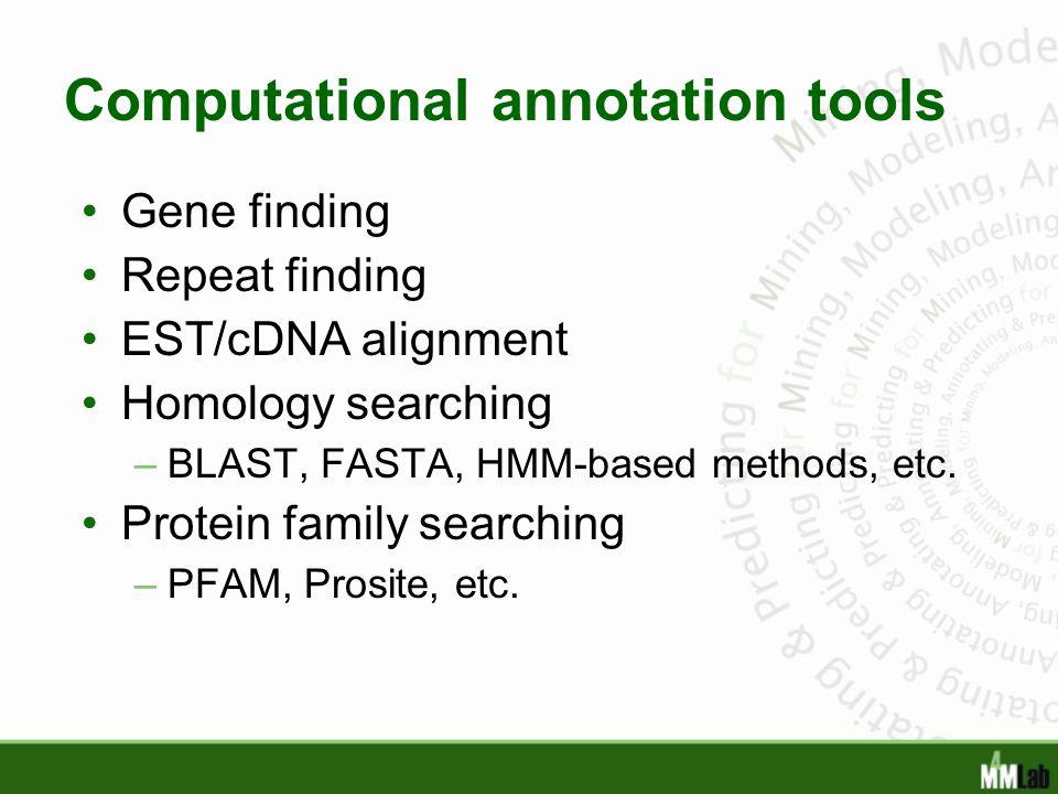 Computational annotation tools